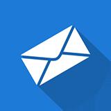 පණිවිඩ, නිවේදන සහ දැනුම්දීම් - විද්යුත් තැපෑලෙන් (email)